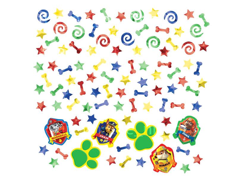 Paw Patrol Konfetti für Kinder